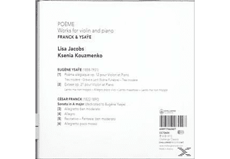 Lisa Jacobs, Ksenia Kouzmenko - Poème, Works For Violin & Piano  - (CD)