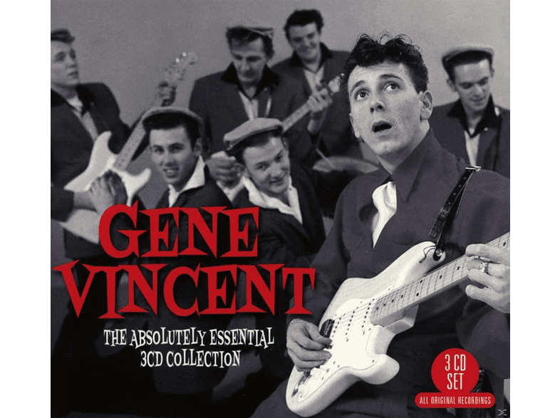 Gene Vincent - The Absolutely Essential 3CD Collection [CD]