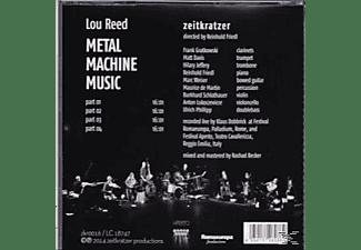 Zeitkratzer - Zeitkratzer Play Lou Reed-Metal Machine Music  - (CD)