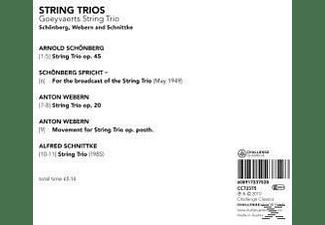 Goeyvarts String Trio, Goeyvaerts String Trio - String Trios  - (CD)