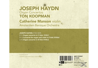 Ton Koopman - Complete Organ Concertos  - (CD)