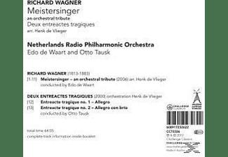 Waart, Netherlands Rso, Edo De & Netherlands Radio Po Waart - Meistersinger-An Orchestral Tribu  - (CD)