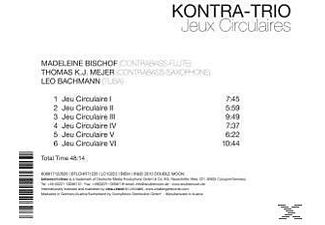 The Kontra-trio - Jeux Circulaires  - (CD)