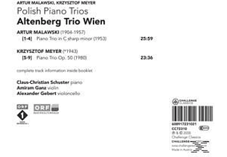 Altenberg Trio Wien - Polish Piano Trios  - (CD)