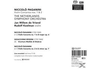 Rudolf Koelman - Violinkonzerte 1 & 2  - (CD)