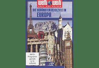 welt weit - Lust auf Reisen: Die schönsten Reiseziele in Europa DVD