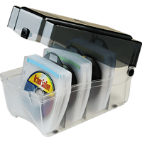 HAMA CD-ROM Sleeve 150 Box, Graphit