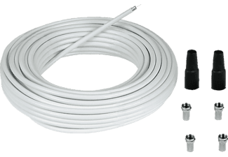 HAMA 85 dB, 20 m SAT-Anschluss-Kit