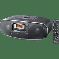PANASONIC RX-D55 AEG-K mit Kassettendeck Radiorecorder (Schwarz)