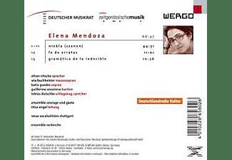 Engel, Ensemble, Nitsche, Ensemble Courage - Szenen Aus Niebla/Fe De Errates/Grammati  - (CD)