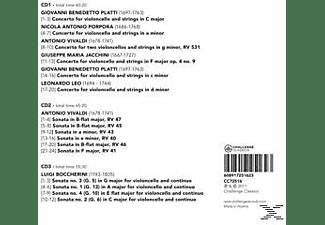 Lucia Swarts - Italian Concertos & Sonatas  - (CD)