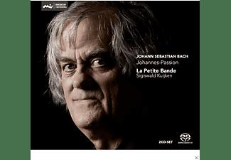 Johann Sebastian Bach, La Petite Bande, Sigiswald Kuijken - Johannes-Passion  - (SACD Hybrid)