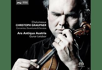 Gunar Letzbor, Ars Antiqua Austria - Concertos, Ouvertures & Sonatas  - (SACD Hybrid)