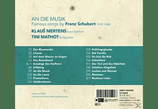 Klaus Mertens - An Die Musik-Famous Songs By Franz Schubert  - (CD)