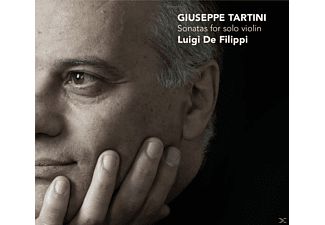 Luigi De Filippi - Sonatas For Solo Violin  - (CD)