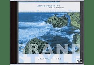 SAVOLAINEN, JARMO - TRIO, WITH ERIC, Savolainen,Jarmo-Trio,With Eric Vloeimans - GRAND STYLE  - (CD)