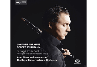Arno Piters, Royal Concertgebouw Orchestra - Strings Attached  - (SACD Hybrid)