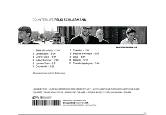 Felix Schlarmann - Counterlife  - (CD)