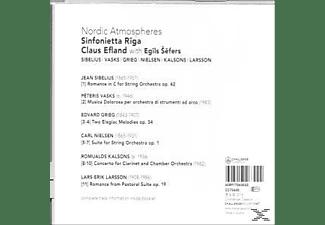 Sinfonietta Riga - Nordic Atmospheres  - (CD)
