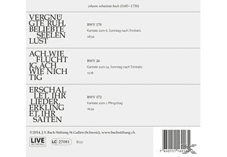 Rudolf Lutz / J.S. Bach-Stiftung - Kantaten No°11  - (CD)