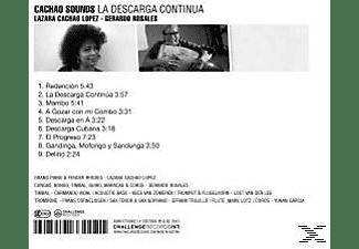 Cachao Sounds, Rosales,Gerardo,Cachao Sounds - La Descarga Continua  - (CD)