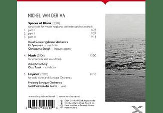 Goltz, Stotijn, Asko : Schoenberg - Spaces Of Blank/Mask/Imprint  - (CD)
