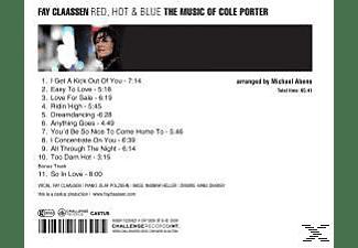 Fay Claassen - Red,Hot & Blue  - (CD)