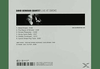 David Quartet Berkman - Live At Smoke  - (CD)