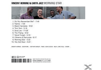 Vincent & Earth Star Herring, Vincent/earth Jazz Herring - Morning Star  - (CD)