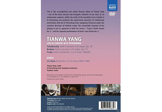Tianwa Yang, St. Petersburg State Symphony Orchestra - Live In Concert In St Petersburg  - (DVD)
