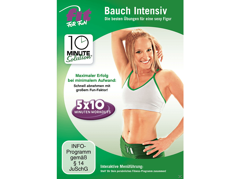 Fit For Fun - 10 Minute Solution: Bauch Intensiv [DVD]