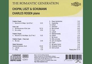 Charles Rosen - The Romantic Generation  - (CD)