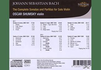 Oscar Shumsky - The Complete Sonatas and Partitas for Solo Violin  - (CD)