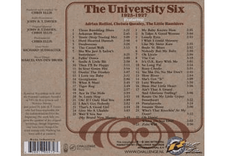 UNIVERSITY SIX, FEAT. ROLLINI, QUEA, University Six,Feat.Rollini,Quealey,Little Ram - 1925-1927  - (CD)