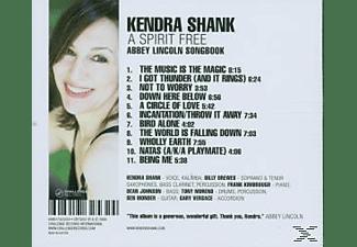 Kendra Shank - A SPIRIT FREE  - (CD)