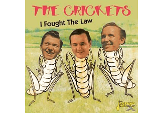 The Crickets - I FOUGHT THE LAW  - (CD)