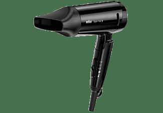 BRAUN Satin Hair 3 HD 350 Style&Go Haartrockner Schwarz (1600 Watt)
