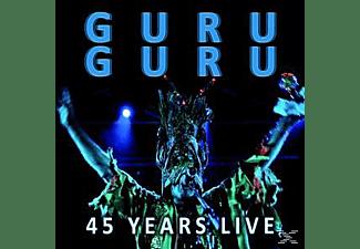 Guru Guru - 45 Years Live  - (CD)