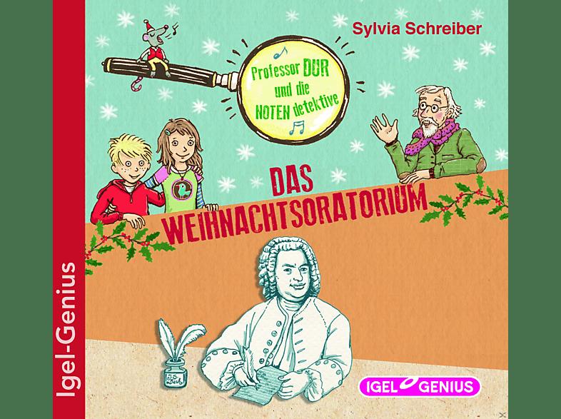 Professor Dur und die Notendetektive: Das Weihnachtsoratorium - (CD)