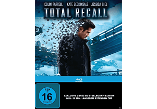 Total Recall (Steelbook Edition Director's Cut + Kinoversion) [Blu-ray]