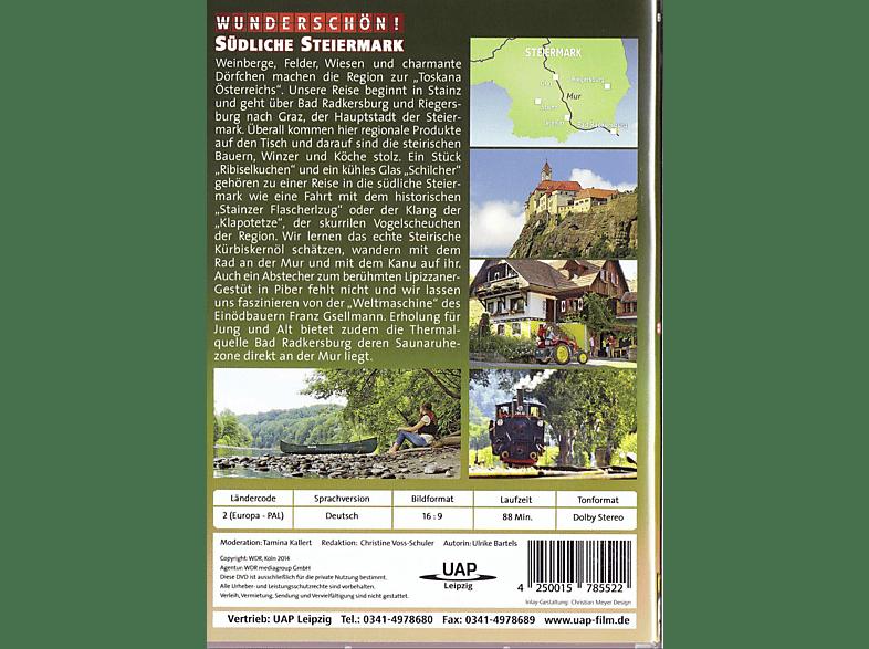 Wunderschön! - Österreich: Die südliche Steiermark [DVD]