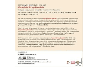 Tokyo String Quartet - Complete String Quartets  - (SACD Hybrid)