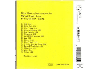Invisible Change, Oliver Maas - Spring  - (CD)