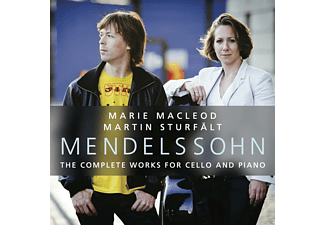 Marie Macleod, Martin Sturfält - Complete Works For Cello And Piano  - (CD)