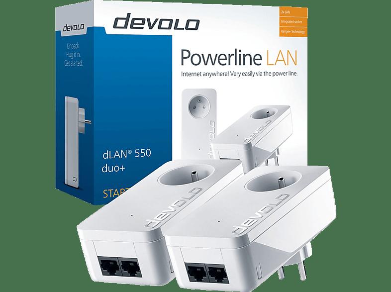 DEVOLO Powerline dLAN 550 Duo+ Starter Kit (9300)