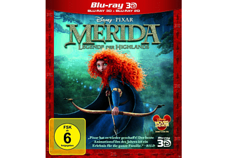 Merida - Legende der Highlands 3D 3D Blu-ray