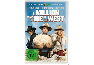 A Million Ways to Die in the West [DVD]