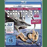 Sharktopus (Uncut, 3D)  [3D Blu-ray]