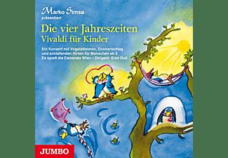 Marko Simsa - Die vier Jahreszeiten - Vivaldi für Kinder  - (CD)