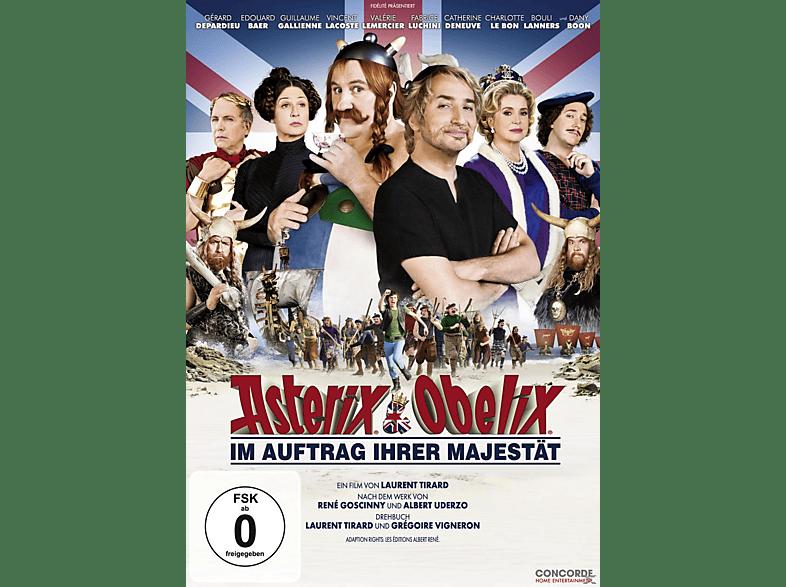 Asterix + Obelix   Im Auftrag Ihrer Majestät [DVD]